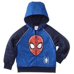 Marvel Spiderman Zipup Hoodie Jacket